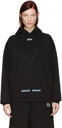 Off White Black Care Hoodie