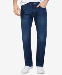 Nautica Men's Stretch Relaxed Fit Jeans Pure Dark Bay