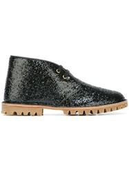 Car Shoe 'Glitter' Boots Black