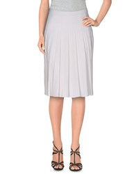Pinko Skirts Knee Length Skirts Women White