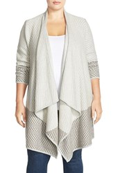 Plus Size Women's Lucky Brand Waterfall Cardigan