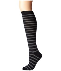 Richer Poorer Nora Knee High Wool Black Charcoal Women's Knee High Socks Shoes