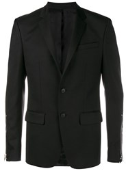 Givenchy Tailored Wool Blend Jacket Black