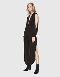 Which We Want Suvi Jumpsuit Black Gold