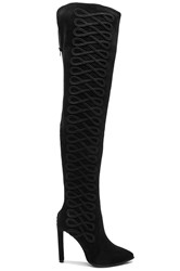 Jeffrey Campbell Sherise Over The Knee Boots Black