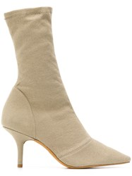 Yeezy Stretch Ankle Boots Neutrals