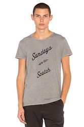 Scotch And Soda Short Sleeve Tee Grey