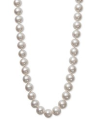 Belle De Mer Cultured Freshwater Pearl 12 14Mm Graduated Collar Necklace White