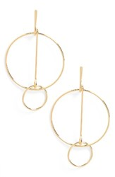 Cara Women's Geometric Drop Earrings