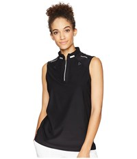 Jamie Sadock Sleeveless Top Jet Black Clothing