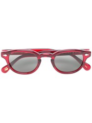 433efafa131 Moscot Lemtosh Sunglasses Acetate Red