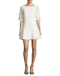 Adrianna Papell Margot Lace Dress Ivory