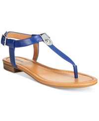 Styleandco. Style And Co. Baileyy Thong Sandals Only At Macy's Women's Shoes Blue
