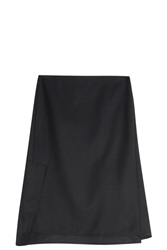 3.1 Phillip Lim Asymmetric Back Skirt Black