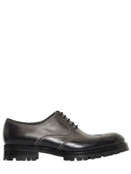 Fratelli Rossetti Hand Painted Brogue Leather Oxford Shoes