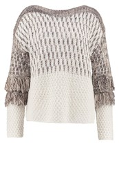 United Colors Of Benetton Jumper Off White Off White