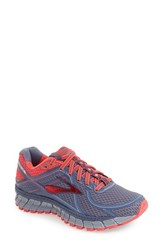 Brooks Women's 'Adrenaline Asr 13' Water Repellent Running Shoe Crown Blue Teaberry