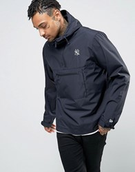 New Era Overhead Jacket With Yankees Logo Navy