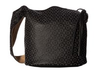 Elizabeth And James Finley Courier With Rivets Black Handbags