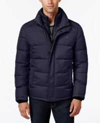 Calvin Klein Men's Classic Quilted Puffer Coat A Macy's Exclusive Style Midnight