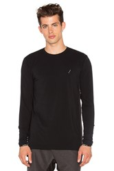 Zanerobe Rec Flintlock Long Sleeve Tee Black