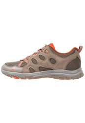 Jack Wolfskin Rocksand Chill Hiking Shoes Coconut Brown