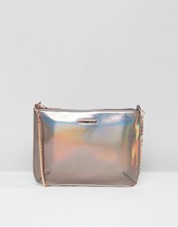 Ted Baker Iridescent Cross Body Bag Grey