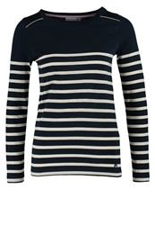 Little Marcel Traverserie Long Sleeved Top Bleu Marine Dark Blue