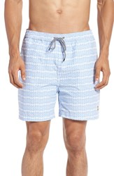 Psycho Bunny Men's Print Swim Trunks