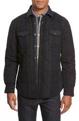 Jeremiah 'Wooster' Quilted Canvas Jacket Forester