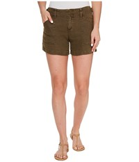 Sanctuary The Weekender Shorts New Brown Olive Women's Shorts