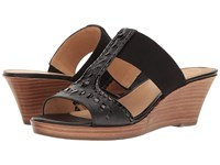 Jack Rogers Nora Black Women's Wedge Shoes
