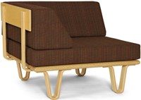 Modernica Case Study Daybed Corner Section With Bentwood Legs