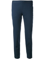 Alberto Biani Straight Leg Trousers Blue