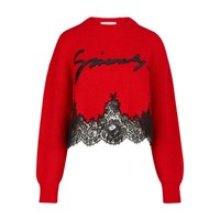Givenchy Crew Neck Pullover Rouge
