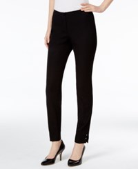 Alfani Prima Studded Skinny Pants Only At Macy's Deep Black