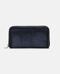 Stella Mccartney Blue Falabella Continental Wallet