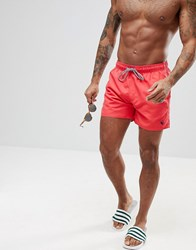 Ted Baker Danbury Swim Shorts Red