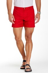 Parke And Ronen Holler Short Red