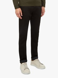Ted Baker Bunting Straight Fit Jeans Black