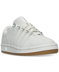 K Swiss Women's The Classic 88 P Casual Sneakers From Finish Line Vaporous Grey Silver Gum