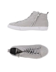 Guess High Tops And Trainers Dove Grey