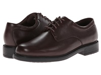 Rockport Big Bucks Margin Chocolate Leather Men's Dress Flat Shoes Brown