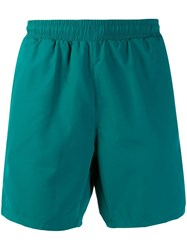 Hugo Boss Logo Swim Shorts Green