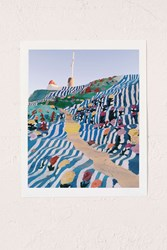 Urban Outfitters Kevin Russ Salvation Staircase Art Print No Frame