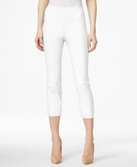 Styleandco. Style And Co. Pull On Capri Pants Only At Macy's Bright White
