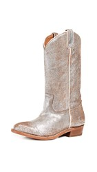 Frye Billy Pull On Boots Silver Multi