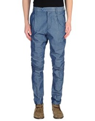 Daniele Fiesoli Casual Pants Blue
