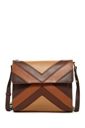 Isabella Fiore Gypsy Leather Crossbody Brown