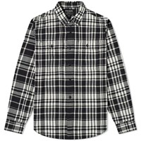 Filson Checked Scout Shirt Black